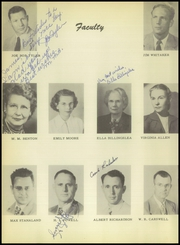 Page 14, 1951 Edition, Burkburnett High School - Derrick Yearbook (Burkburnett, TX) online yearbook collection