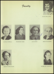 Page 15, 1951 Edition, Burkburnett High School - Derrick Yearbook (Burkburnett, TX) online yearbook collection