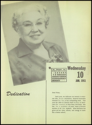 Page 9, 1951 Edition, Burkburnett High School - Derrick Yearbook (Burkburnett, TX) online yearbook collection