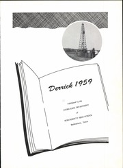 Page 5, 1959 Edition, Burkburnett High School - Derrick Yearbook (Burkburnett, TX) online yearbook collection