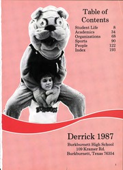 Page 5, 1987 Edition, Burkburnett High School - Derrick Yearbook (Burkburnett, TX) online yearbook collection