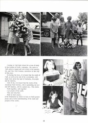 Page 16, 1969 Edition, Taft High School - Tracks Yearbook (Taft, TX) online yearbook collection