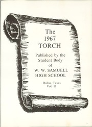 Page 5, 1967 Edition, W W Samuell High School - Torch Yearbook (Dallas, TX) online yearbook collection