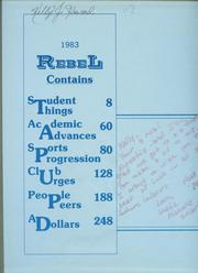 Page 2, 1983 Edition, Richland High School - Rebel Yearbook (Fort Worth, TX) online yearbook collection