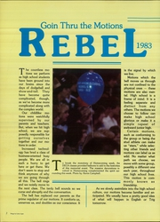 Page 6, 1983 Edition, Richland High School - Rebel Yearbook (Fort Worth, TX) online yearbook collection