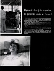 Page 15, 1976 Edition, W E Boswell High School - Pioneer Yearbook (Fort Worth, TX) online yearbook collection