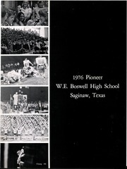 Page 5, 1976 Edition, W E Boswell High School - Pioneer Yearbook (Fort Worth, TX) online yearbook collection