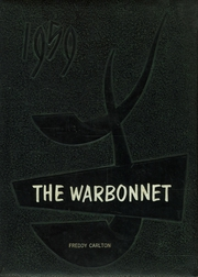 1959 Edition, Tuloso Midway High School - Warbonnet Yearbook (Corpus Christi, TX)