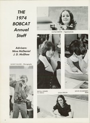 Page 8, 1974 Edition, Hallsville High School - Bobcat Yearbook (Hallsville, TX) online yearbook collection