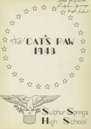 Page 5, 1943 Edition, Sulphur Springs High School - Cats Paw Yearbook (Sulphur Springs, TX) online yearbook collection