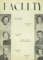 Page 16, 1946 Edition, Sulphur Springs High School - Cats Paw Yearbook (Sulphur Springs, TX) online yearbook collection