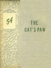 1954 Edition, Sulphur Springs High School - Cats Paw Yearbook (Sulphur Springs, TX)