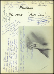 Page 5, 1954 Edition, Sulphur Springs High School - Cats Paw Yearbook (Sulphur Springs, TX) online yearbook collection