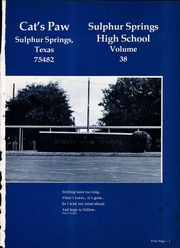 Page 5, 1976 Edition, Sulphur Springs High School - Cats Paw Yearbook (Sulphur Springs, TX) online yearbook collection