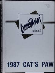1987 Edition, Sulphur Springs High School - Cats Paw Yearbook (Sulphur Springs, TX)
