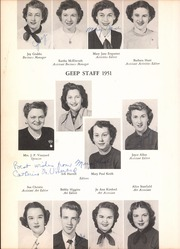 Page 10, 1951 Edition, Grand Prairie High School - Geep Yearbook (Grand Prairie, TX) online yearbook collection