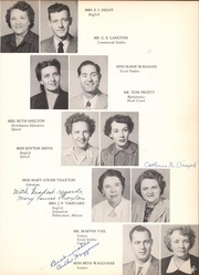 Page 15, 1951 Edition, Grand Prairie High School - Geep Yearbook (Grand Prairie, TX) online yearbook collection