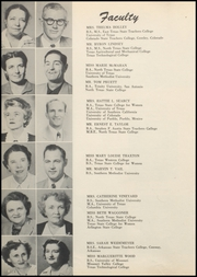 Page 12, 1953 Edition, Grand Prairie High School - Geep Yearbook (Grand Prairie, TX) online yearbook collection