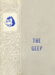 Page 1, 1954 Edition, Grand Prairie High School - Geep Yearbook (Grand Prairie, TX) online yearbook collection