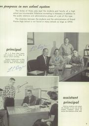 Page 13, 1957 Edition, Grand Prairie High School - Geep Yearbook (Grand Prairie, TX) online yearbook collection