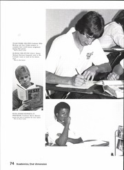 Page 76, 1984 Edition, North Garland High School - Marauder Yearbook (Garland, TX) online yearbook collection