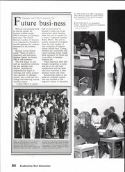 Page 82, 1984 Edition, North Garland High School - Marauder Yearbook (Garland, TX) online yearbook collection