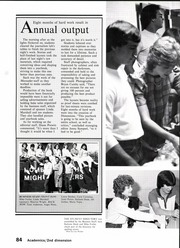 Page 86, 1984 Edition, North Garland High School - Marauder Yearbook (Garland, TX) online yearbook collection