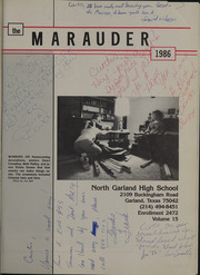 Page 5, 1986 Edition, North Garland High School - Marauder Yearbook (Garland, TX) online yearbook collection