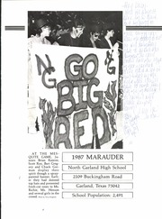 Page 5, 1987 Edition, North Garland High School - Marauder Yearbook (Garland, TX) online yearbook collection