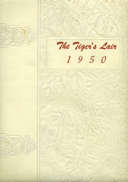 1950 Edition, Terrell High School - Tiger Yearbook (Terrell, TX)