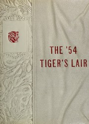 1954 Edition, Terrell High School - Tiger Yearbook (Terrell, TX)