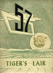 1957 Edition, Terrell High School - Tiger Yearbook (Terrell, TX)