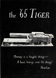 Page 5, 1965 Edition, Terrell High School - Tiger Yearbook (Terrell, TX) online yearbook collection