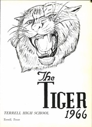 Page 5, 1966 Edition, Terrell High School - Tiger Yearbook (Terrell, TX) online yearbook collection