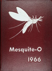 1966 Edition, Mesquite High School - Mesquite O Yearbook (Mesquite, TX)
