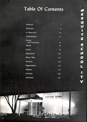 Page 10, 1967 Edition, Mesquite High School - Mesquite O Yearbook (Mesquite, TX) online yearbook collection