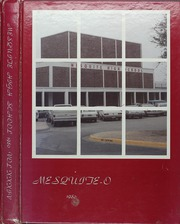 1980 Edition, Mesquite High School - Mesquite O Yearbook (Mesquite, TX)