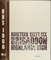 Page 1, 1966 Edition, Highlands High School - Brigadoon Yearbook (San Antonio, TX) online yearbook collection