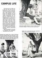 Page 17, 1966 Edition, Highlands High School - Brigadoon Yearbook (San Antonio, TX) online yearbook collection