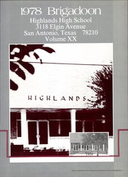 Page 5, 1978 Edition, Highlands High School - Brigadoon Yearbook (San Antonio, TX) online yearbook collection