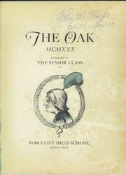 Page 5, 1930 Edition, South Oak Cliff High School - Den Yearbook (Dallas, TX) online yearbook collection