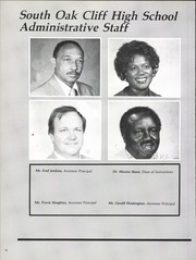 Page 14, 1984 Edition, South Oak Cliff High School - Den Yearbook (Dallas, TX) online yearbook collection