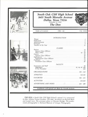 Page 6, 1984 Edition, South Oak Cliff High School - Den Yearbook (Dallas, TX) online yearbook collection