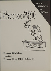 Page 5, 1980 Edition, Everman High School - Beacon Yearbook (Everman, TX) online yearbook collection