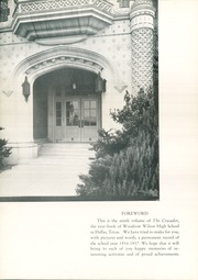 Page 10, 1937 Edition, Woodrow Wilson High School - Crusader Yearbook (Dallas, TX) online yearbook collection