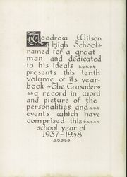 Page 10, 1939 Edition, Woodrow Wilson High School - Crusader Yearbook (Dallas, TX) online yearbook collection