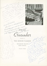 Page 7, 1944 Edition, Woodrow Wilson High School - Crusader Yearbook (Dallas, TX) online yearbook collection