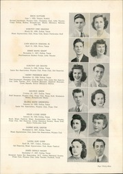 Page 37, 1945 Edition, Woodrow Wilson High School - Crusader Yearbook (Dallas, TX) online yearbook collection