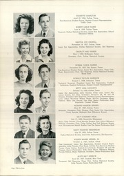 Page 38, 1945 Edition, Woodrow Wilson High School - Crusader Yearbook (Dallas, TX) online yearbook collection