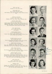 Page 39, 1945 Edition, Woodrow Wilson High School - Crusader Yearbook (Dallas, TX) online yearbook collection